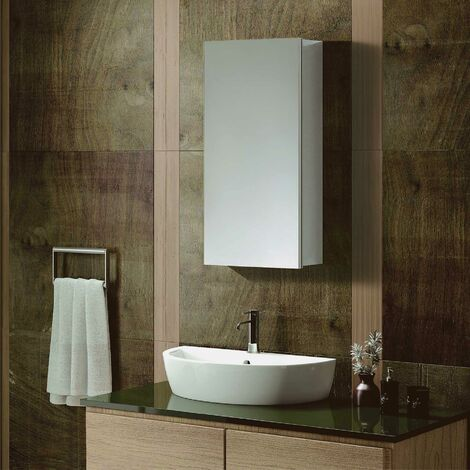 """main image of """"STYLO MIRROR CABINET WITH 2 ADJUSTABLE GLASS SHELF"""""""