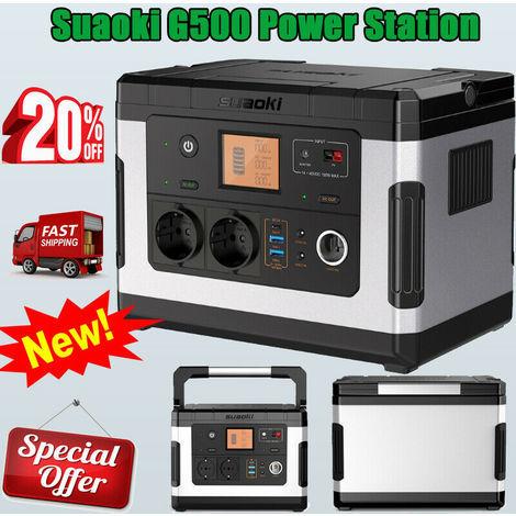Suaoki G500 Power Station Solargenerator 3USB Generator Batterie