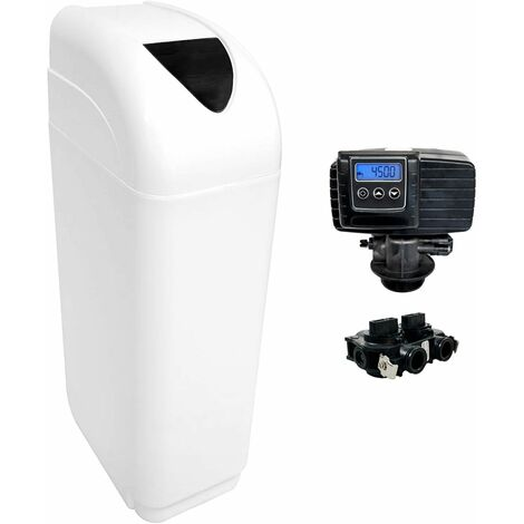 Suavizador de agua 25L Fleck 5600 SXT válvula volumétrica electrónica