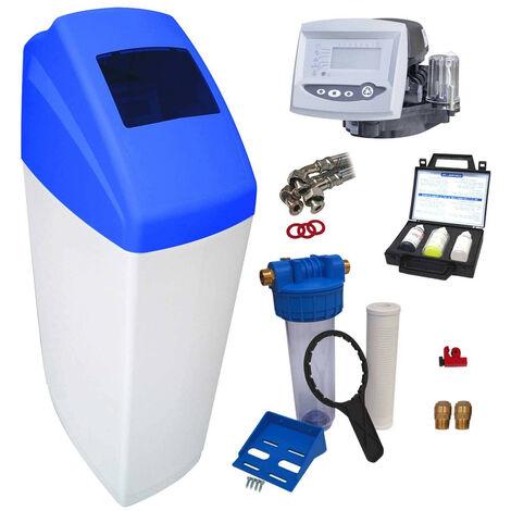 Suavizador de agua 30L Autotrol 255/762 completo con prefiltración y accesorios de montaje