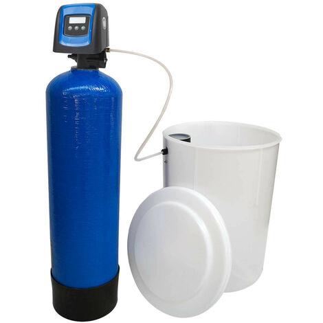 Suavizador de agua bi-bloque 20L Fleck 5800 SXT válvula volumétrica electrónica