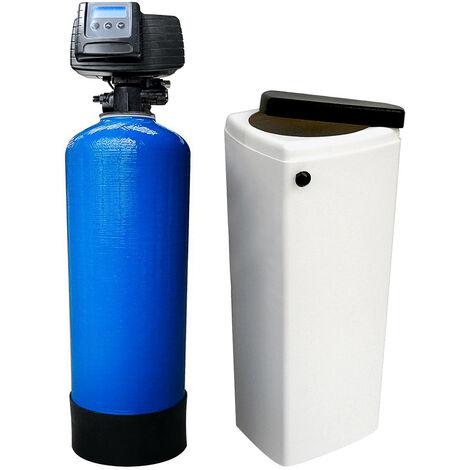 Suavizador de agua bi-bloque 25L Fleck 5600 SXT válvula volumétrica electrónica