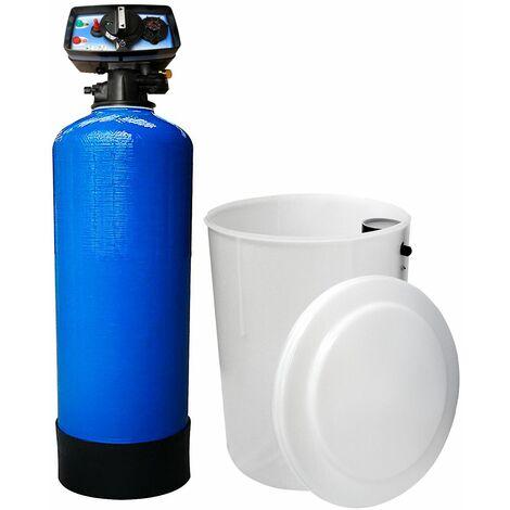 Suavizador de agua bi-bloque 75L Fleck 5600 MC válvula cronométrica mecánica