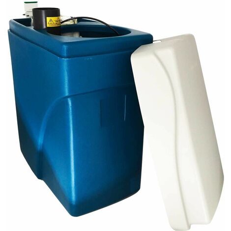 Suavizador de agua sin electricidad ultra compacto simplex