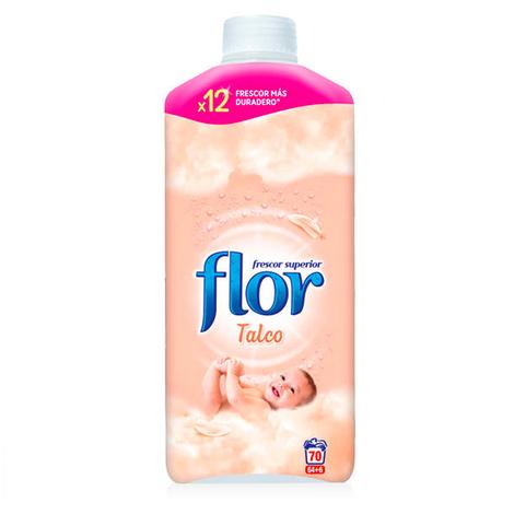 Suavizante Concentrado Flor Talco 1,5 L (70 Dosis)