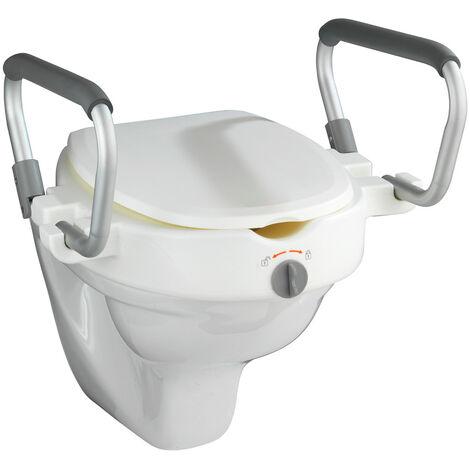 Subida asiento WC con reposabrazos Secura WENKO