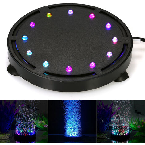Submersible LED Air Bubble Light Colorful Decoration