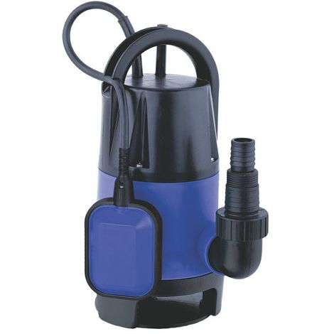 Submersible Pump for Dirty Water 7500 l/h Emptying Pools Ponds Flooded Basements