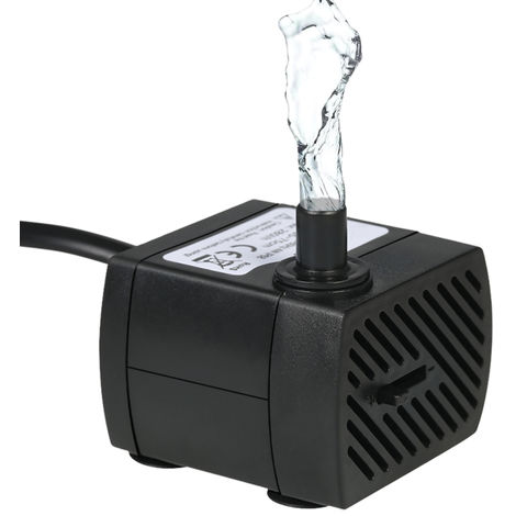 Submersible Water Pump with One Nozzle 4.9ft(1.5m) Power Cord AC220-240V