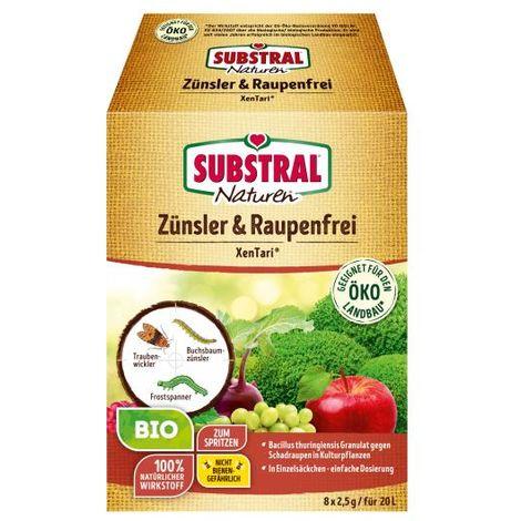 Substral Naturen® Bio Zünsler & Raupenfrei XenTari 8 x 2,5 g