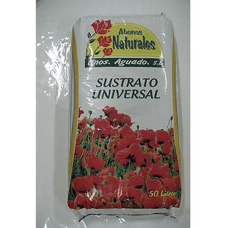Substrat de culture universel 10 Lt Engrais naturels Hnos. Aguado