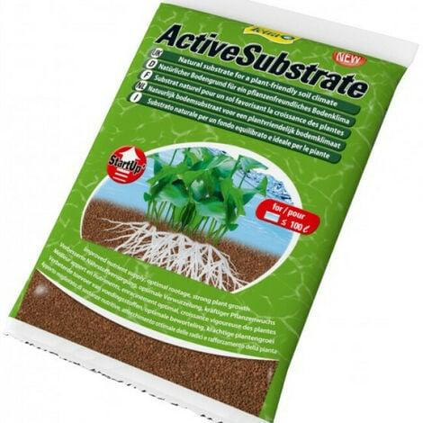 Substrat pour plantes d'aquarium Tetra Active Substrate Contenance 6 litres