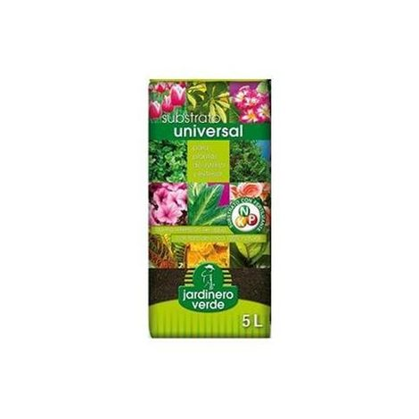 Substrato fertilizado jardinero verde