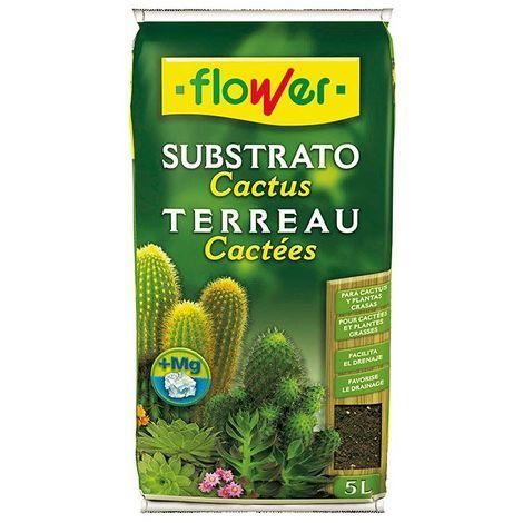 Substrato flower para cactus 5 l Flower Cactus
