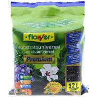 Substrato flower premium con fibra de coco 12 l