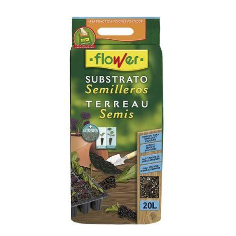 Substrato Semilleros FLOWER - 20 Litros
