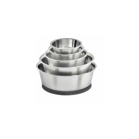 Suction Steel Bowl 24cm - 631094