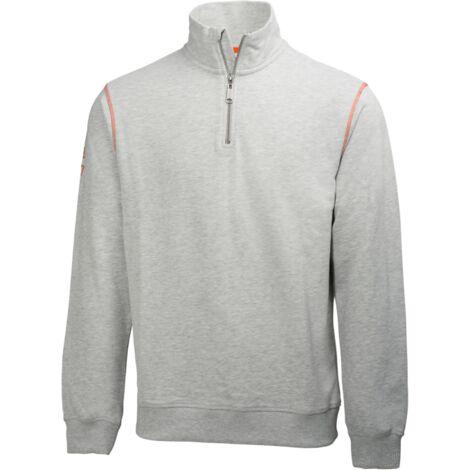 Sudadera de algodón con cremallera Oxford Hz Sweater HellyHansen 79027