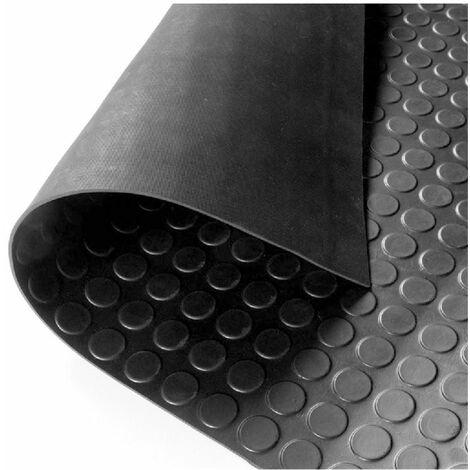 293d3571408 Suelo Goma Círculo Negro - Rollo 3 mm 15 x 1 m