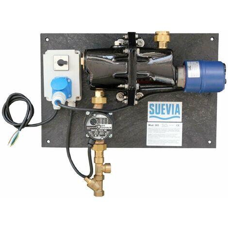 SUEVIA Umlaufheizung Zirkulationspumpe Modell 303 - 230V / 3000W