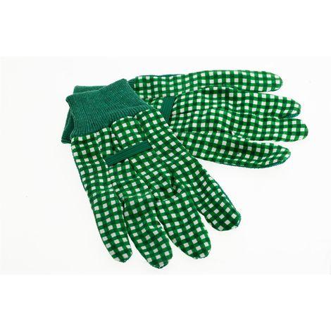 Suki Handschuhe, Arbeitshandschuhe, Gartenhandschuhe Nylon PVC mit Strickbund Gr. 8 - Nr.: 1801953