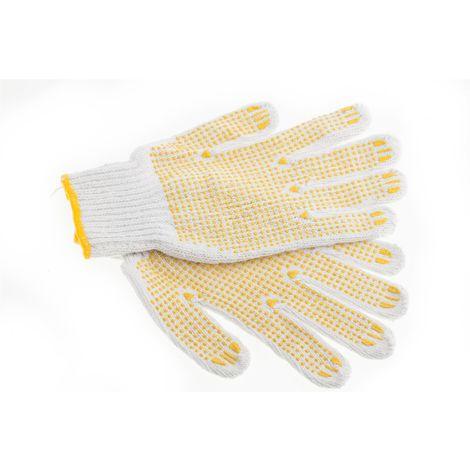 Suki Handschuhe, Arbeitshandschuhe, Gartenhandschuhe PVC mit Noppen und Strickbund Gr. 10 - Nr.: 1801956
