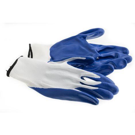 Suki Handschuhe, Arbeitshandschuhe Nylon, Nitril mit Bund Gr. 10 - Nr.: 1801981
