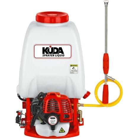 Sulfatadora de líquido KUDA a gasolina de 20 l