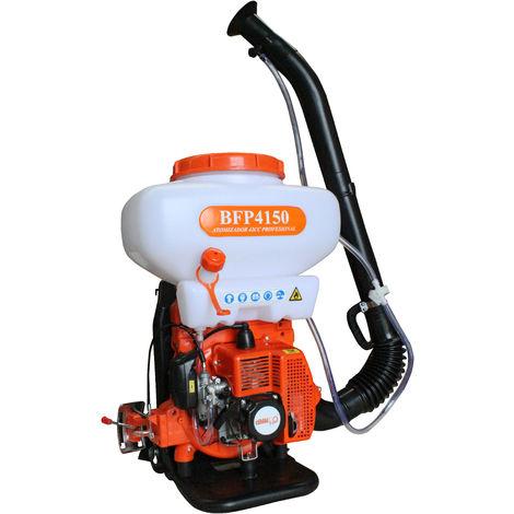 Sulfatadora Líquido-Polvo 20 litros con motor a gasolina 2 tiempos.