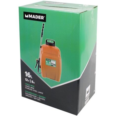 Sulfatadora Pulverizador Bateria 16L reforzada