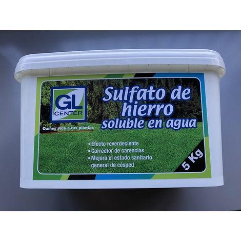 Sulfato de hierro soluble en agua GL CENTER 5 Kg