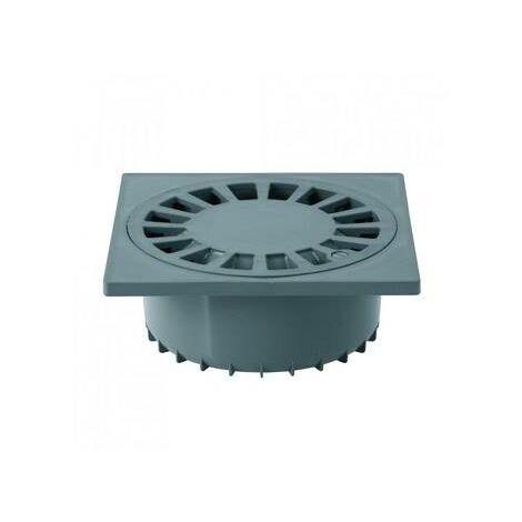Sumidero sifónico salida vertical PVC S-246 25x25
