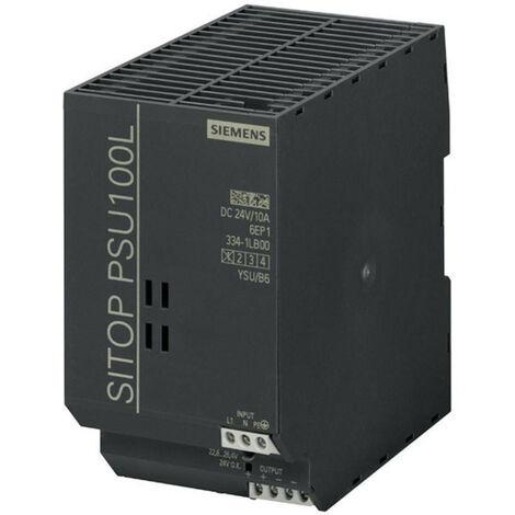 Suministro de energía de Siemens de conmutación SITOP PSU100L 1F/24DC 10A 6EP13341LB00