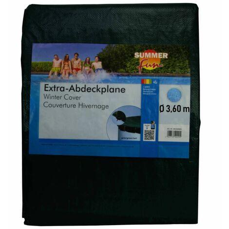 Summer Fun Couverture de piscine d'hiver Ronde 360 cm PVC Vert