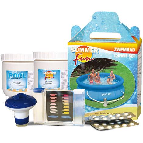 Summer Fun Pool Chemical Starter Kit - Multicolour