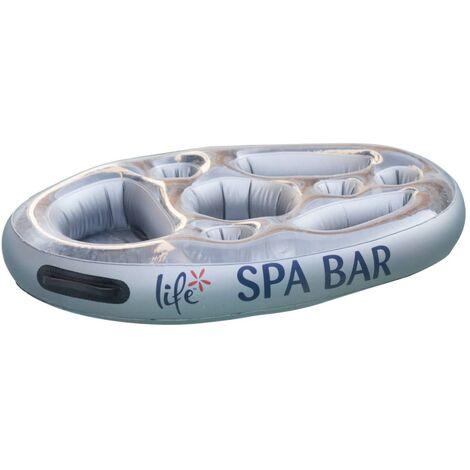 Summer Fun Spa Bar Silver - Silver