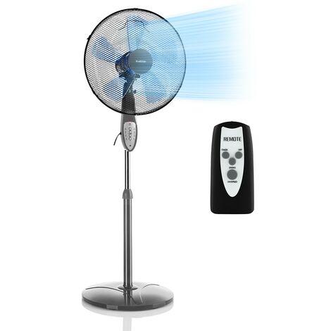 Summerjam Stand Fan 41cm 50W 3 Steps Grey