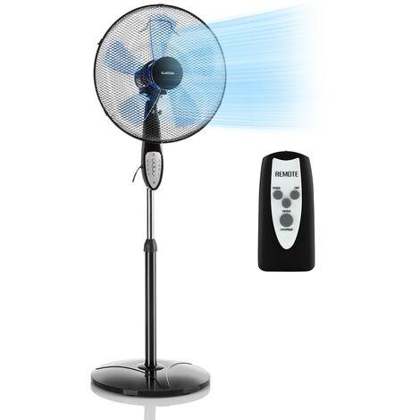 """main image of """"Summerjam ventilateur sur pied 41 cm 50 W 3 vitesses - noir"""""""