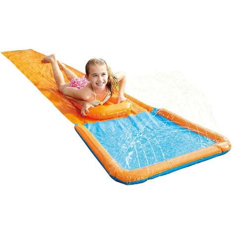 Summertime Tobogán deslizante acuático 550 cm - Naranja