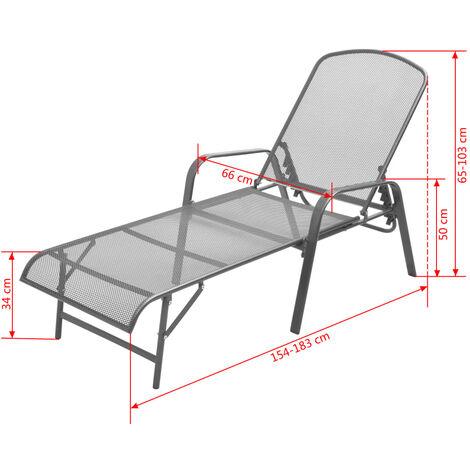 Green Casaria sun lounger zircone plastic wheels adjustable backrest folding garden lounger chair