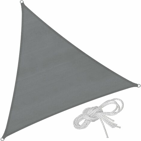 Sun shade sail triangular, variant 2 - garden sun shade, garden sail shade, sun canopy