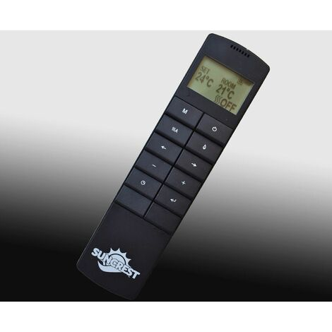 Suncrest Mayford Electric Fireplace Fire Heater Heating Real Coal Effect Remote