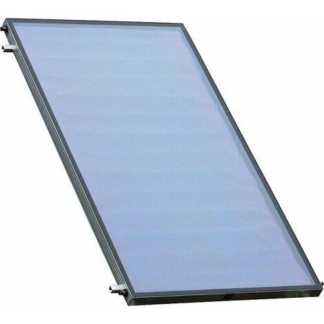Sunex NX 2.50 Edelstahl Falchdach Solarpaket Flachkollektoren Solaranlage Warmwasser