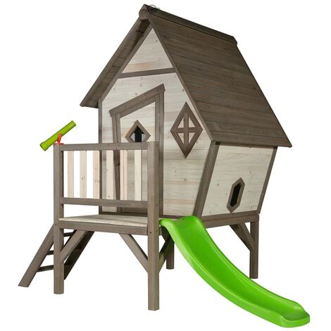 Sunny Children Playhouse Cabin XL with a Slide C050.004.00