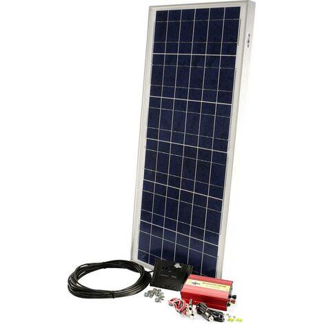 Sunset PX 60, PDA300 10556 Solar-Set 60 Wp inkl. Wechselrichter, inkl. Anschlusskabel, inkl. Ladereg X115381