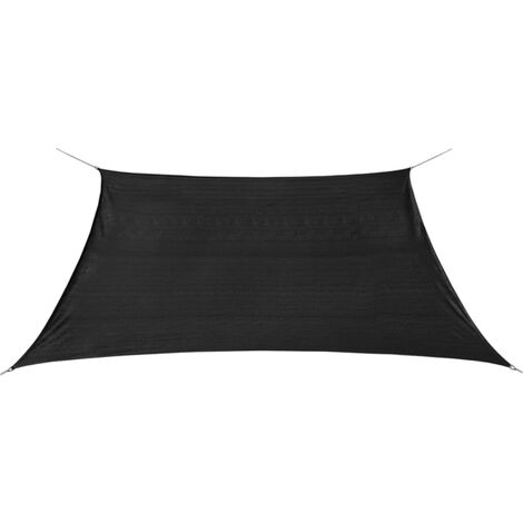 Sunshade Sail HDPE Square 3.6x3.6 m Anthracite