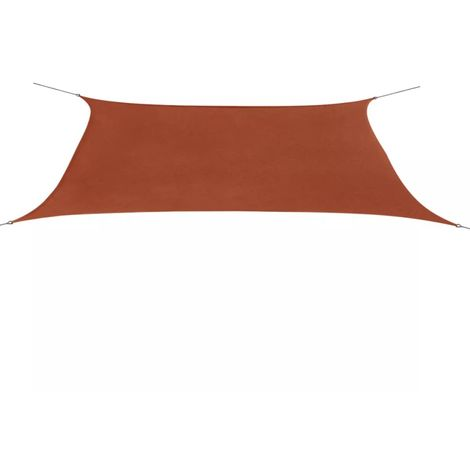Sunshade Sail Oxford Fabric Rectangular 4x6 m Terracotta