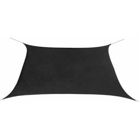 Sunshade Sail Oxford Fabric Square 3.6x3.6 m Anthracite