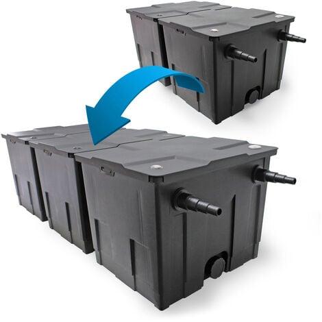SunSun Bio CBF-350C filtro estanques 90000L actualización filtro en línea set de 2 limpieza jardín
