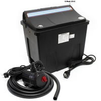 SunSun Bio Pond Filter CBF-200T 9W UVC Pond Pump 2300l/h 35W